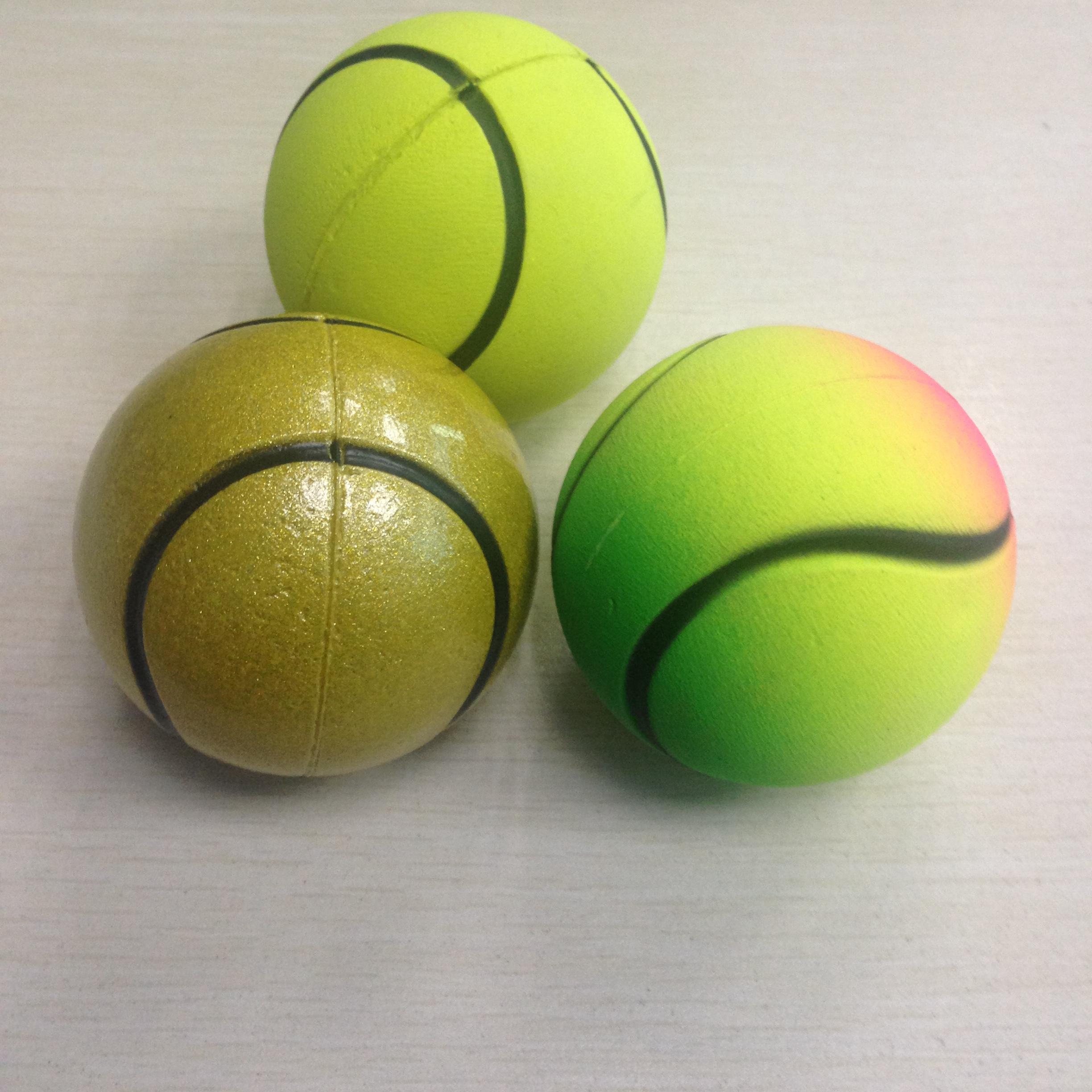 Tennis solid ball Elastic ball for children toy​