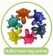 a set of animal bean bag
