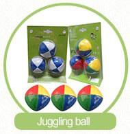 a set of juggling ball