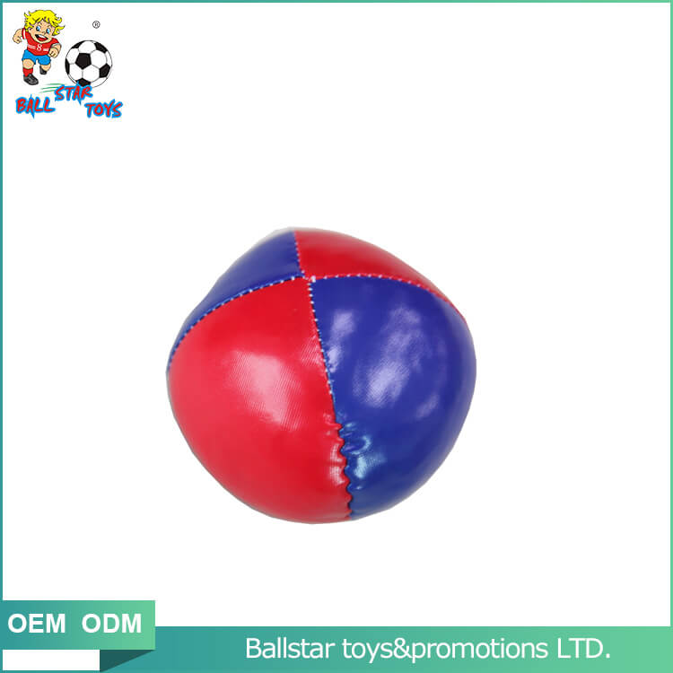 two colors professional juggling balls