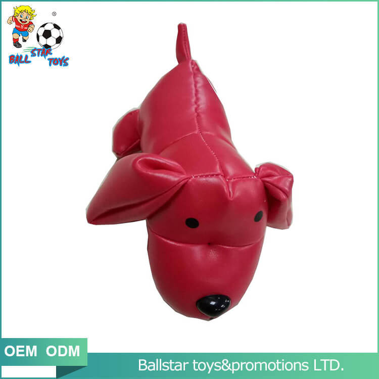 red dog bean bag educatioanl toy