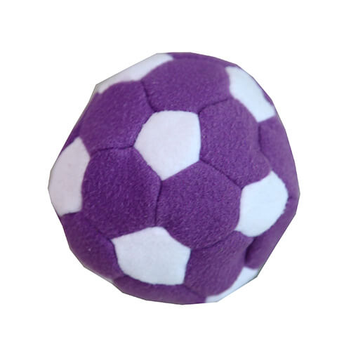 purple footbag