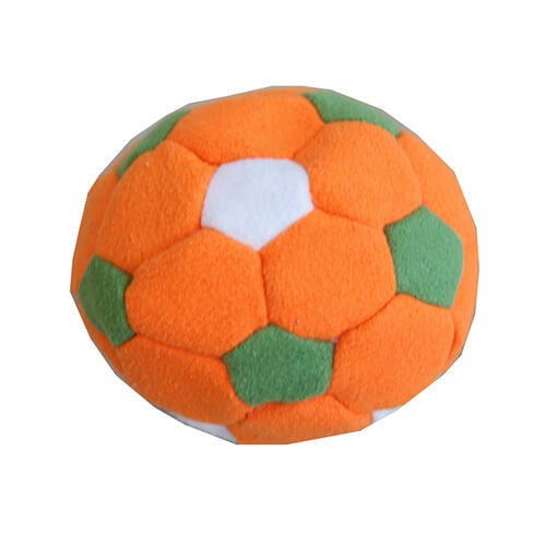 orange footbag
