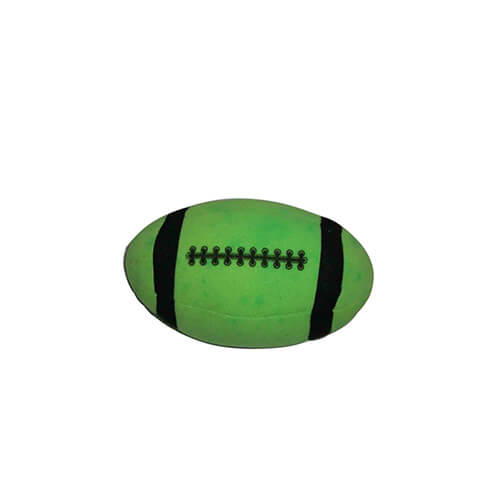 Safety colorful stuffed soft rugby