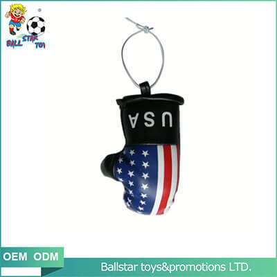 boxing glove keychain adornment