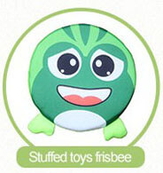 stuffed toys frisbee